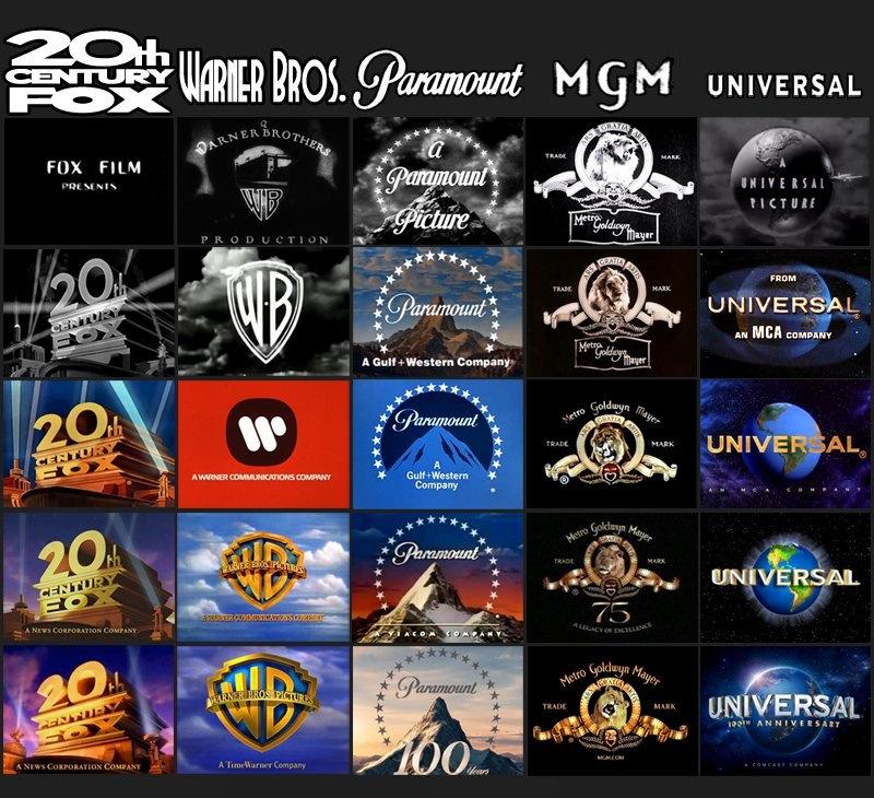 movie studio logos