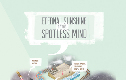 Eternal Sunshine of the Spotless Mind [2004] Infographic (Spoilers)