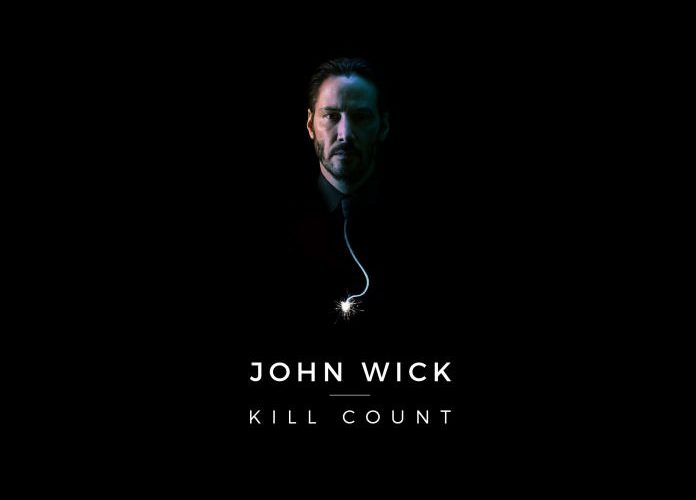 John Wick [2014] Kill Count Infographic (Spoilers)