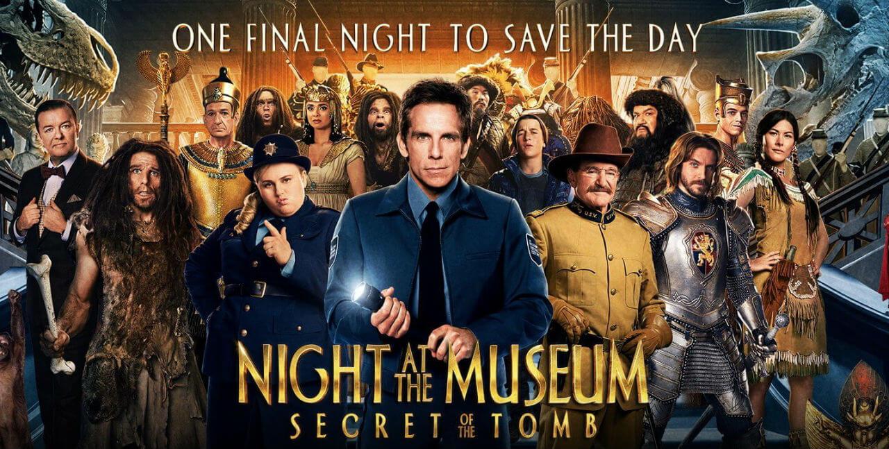 night at the museum: secret of the tomb [2014] vfx breakdownmpc
