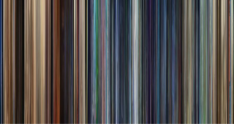 movie barcodes  the colors of pixar