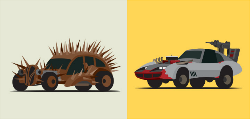 Mad Max Fury Road Vechicles