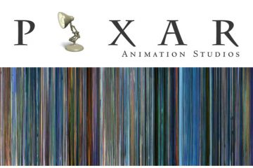 Movie Barcodes: The Colors of Pixar