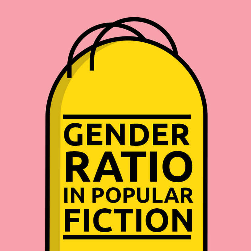 gender ratios in pop fiction