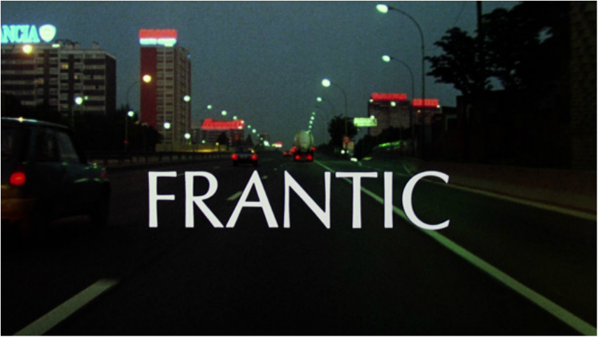 opening frantic movie
