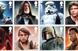 royal mail star wars stamps