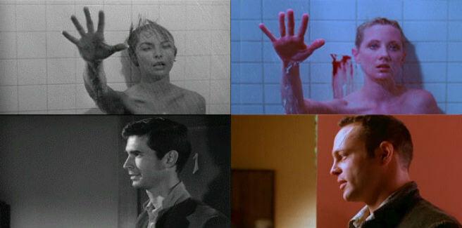 psycho comparison movies