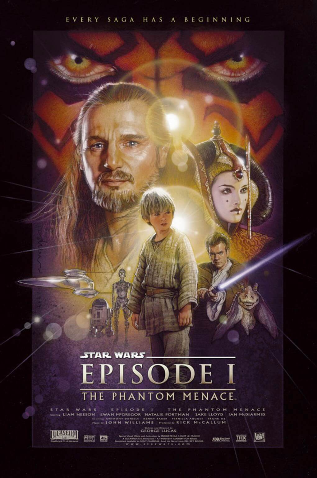 the phantom menace star wars
