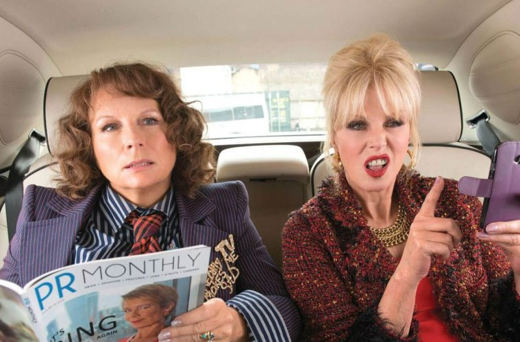 Absolutely Fabulous Movie 2016 Screen Shit