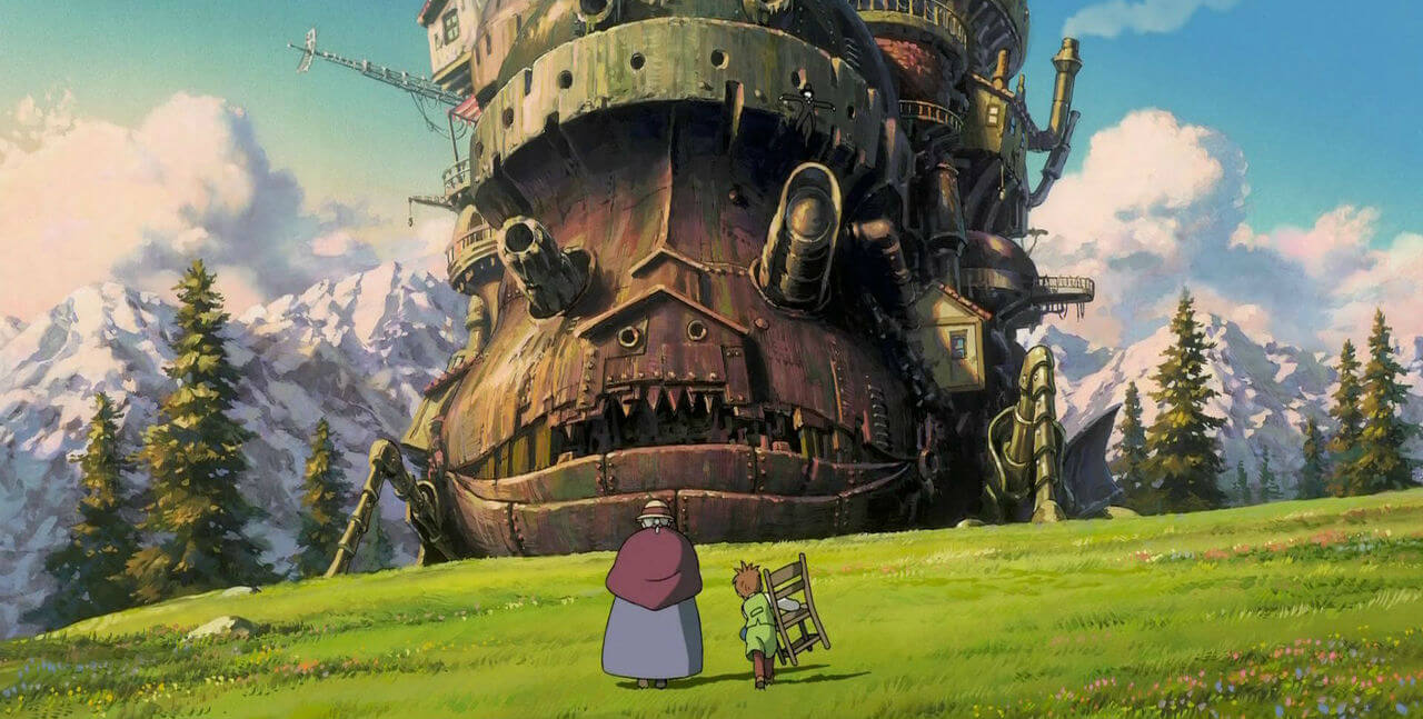 Still from Studio Ghibli Movie Howl's Moving Castle (2004)