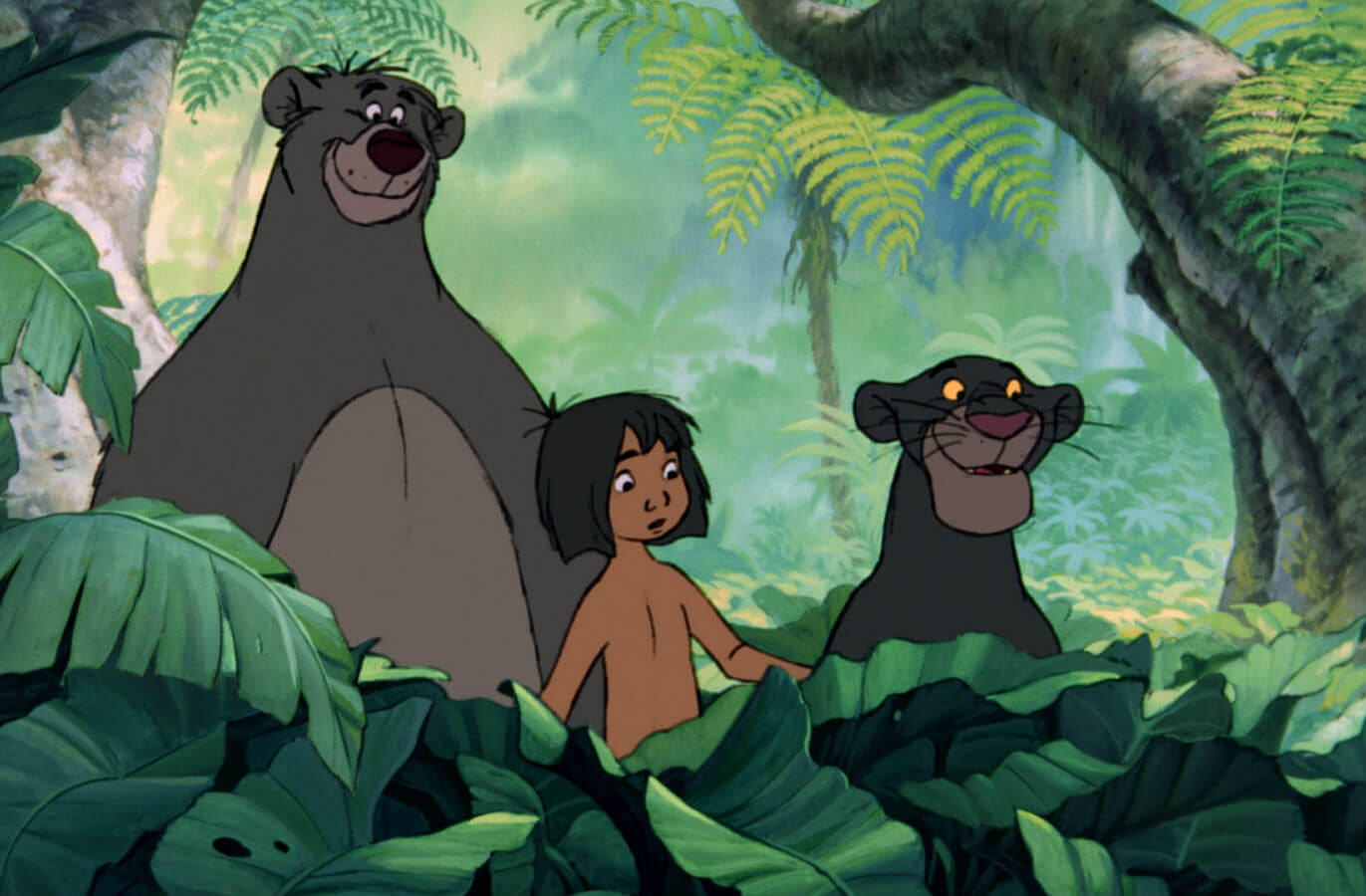 The Jungle Book 1967 Movie Still