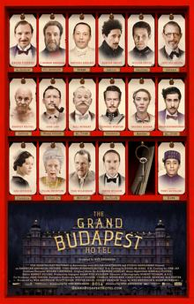 he Grand Budapest Hotel - Movie Poster - Wes Anderson Director Profile