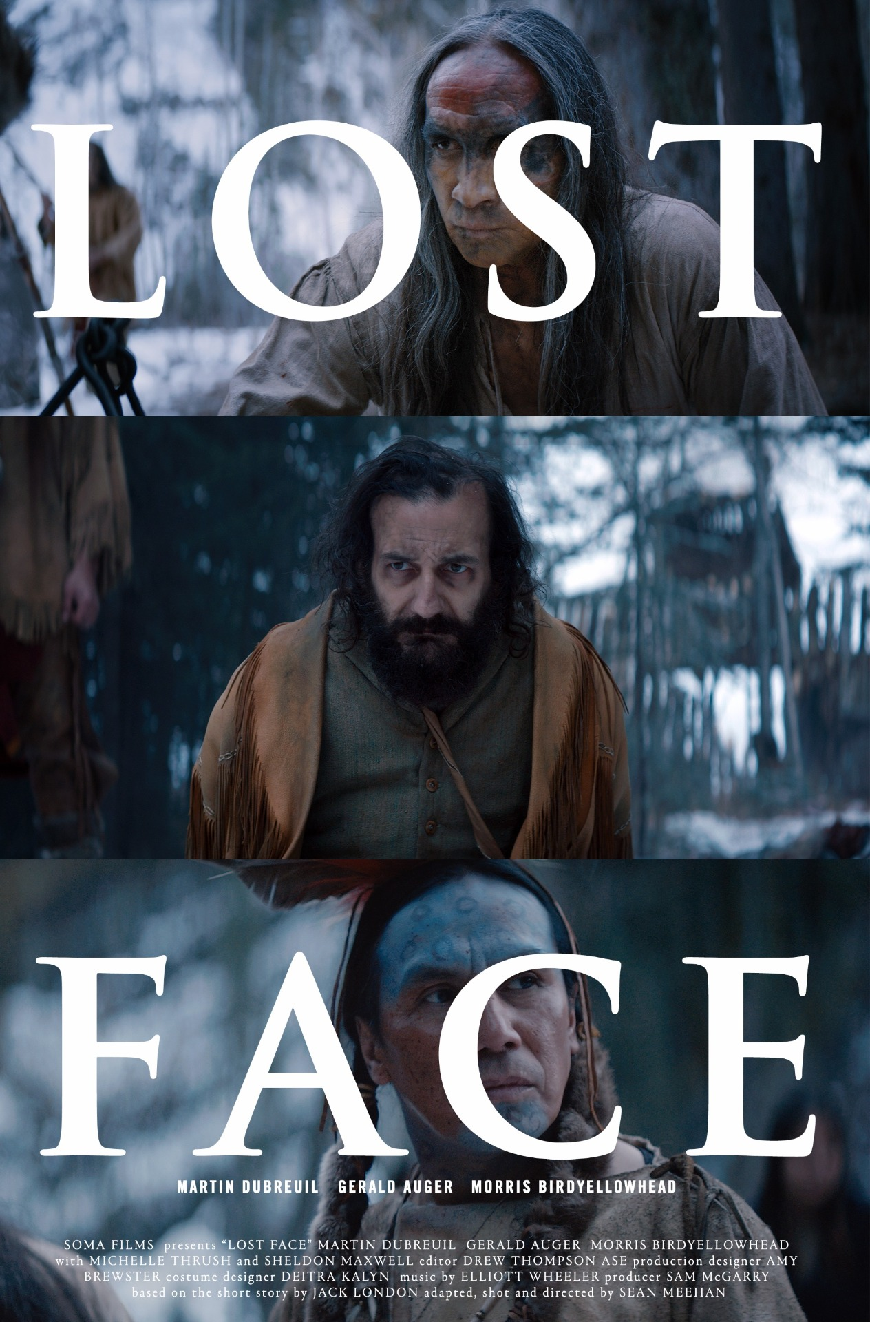 Lost Face Short Film movie poster