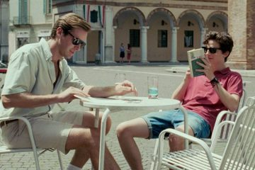 Image of Armie Hammer and Timothée Chalamet in 2017 film Call Me By Your Name
