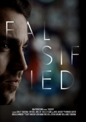 Falsified-Poster- Short Film Interview