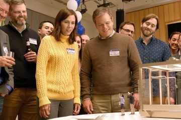 Image of Kristen Wiig and Matt Damon starring in the film, Downsizing