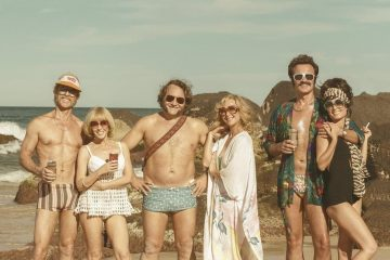 Image of the cast from the film Swinging Safari