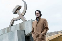 "Image of Keanu Reeves in the movie ""Siberia"""