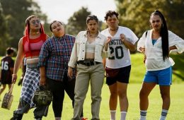 "Image from the New Zealand comedy-romance film ""The Breaker Upperers"""