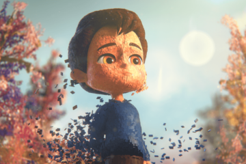 Image from the animation short film 'Ian'.
