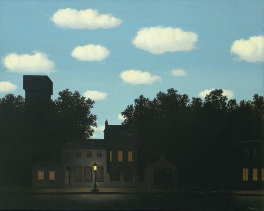Rene Magritte's painting Empire of Light
