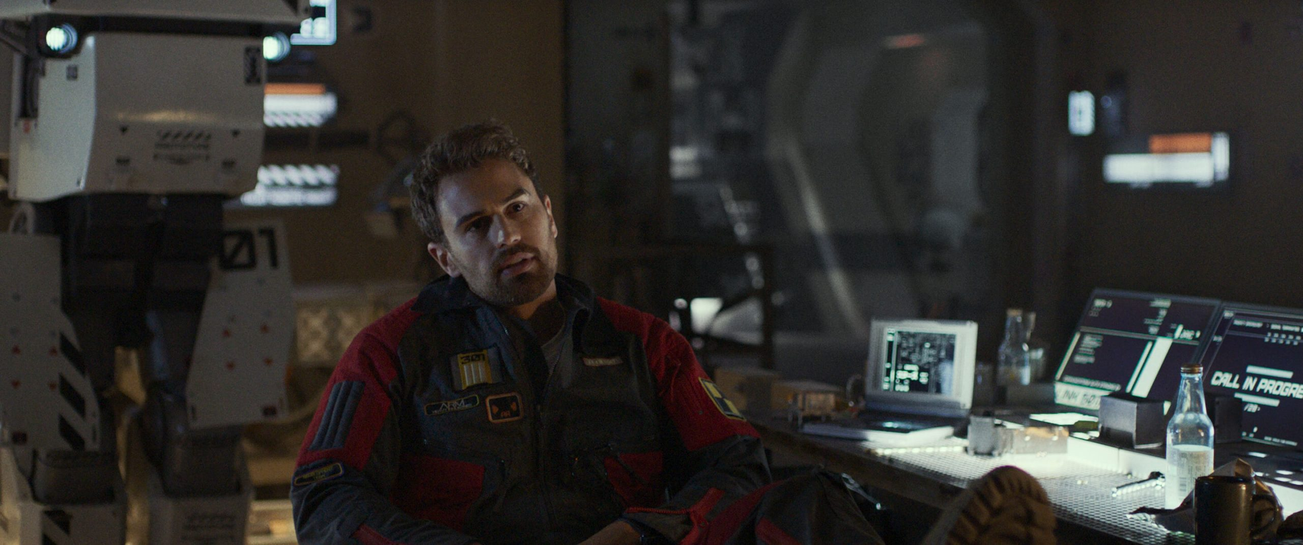 Theo James in Archive