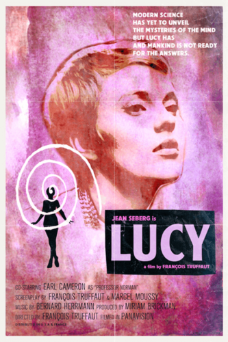Jean Seberg, Lucy (2014), François Truffaut - Modern Films Re-Imagined into Classic Posters