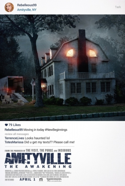 Amityville the Awakening 2017 Movie Poster