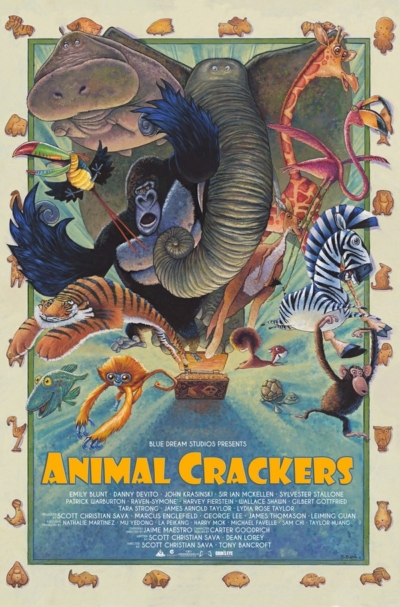 Animal Crackers 2017 Moie Poster