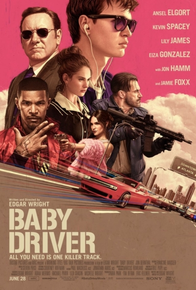 Baby Driver 2017 Movie Poster