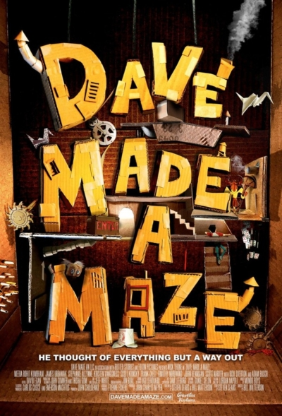 Dave Made a Maze 2017 Movie Poster
