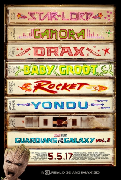 Guardians of the Galaxy 2017 Movie Poster