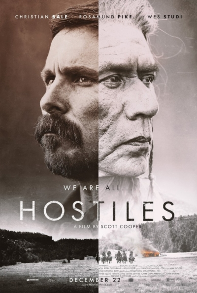 Hostiles 2017 Movie Poster