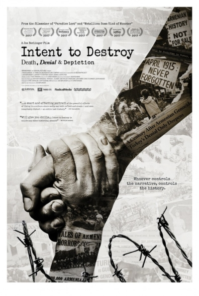 Intent to Destroy 2017 Movie Poster