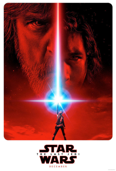 Star Wars: The Last Jedi 2017 Movie Poster