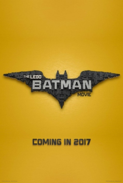 Lego Batman 2017 Movie Poster