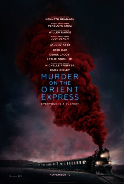 Murder on the Orient Express 2017 Movie Poster