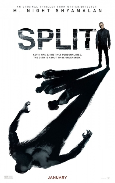 Split 2017 Movie Poster